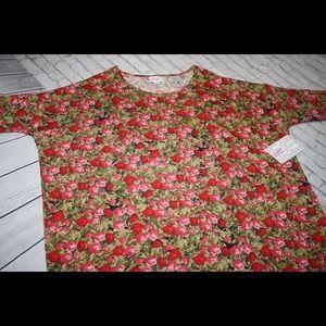 LuLaRoe tunic top.  Irma